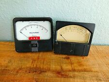 Pair Of Vintage Gauges - Simpson Milliamperes & Other G-R Db