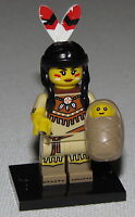 LEGO NEW SERIES 15 TRIBAL WOMAN 71011 MINIFIGURE INDIAN FIGURE