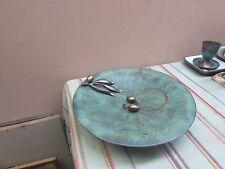 """Pal Bell Israel Verdigris Plate Metal 11"""""""