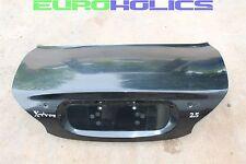 OEM Jaguar X Type 02-08 Trunk Boot Deck Lid Black SEE PHOTOS