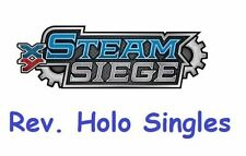 Steam Siege Common Pokémon Individual Cards with Holo