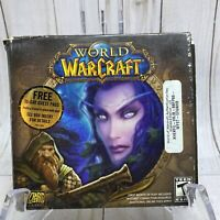World of Warcraft PC Game Windows 5 Disc Set Blizzard Entertainment 2004.