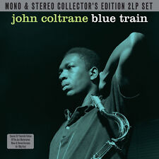 John Coltrane BLUE TRAIN Mono & Stereo GATEFOLD 180g AUDIOPHILE New Vinyl 2 LP
