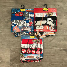 3 x Pairs Boys Star Wars Boxers Shorts Trunks Age 12 13 14 Years Teenager 28""