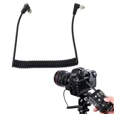 Male to Male Flash PC Sync Cord/Cable for Canon Nikon etc PC sync port Camera