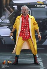 Dr Emmett Brown Back to The Future 1 6 Figure Hot Toys MMS380 Sideshow