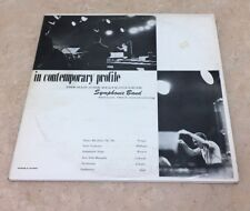 In Contemporary Profile San Jose State Symphony Ingolf Dahl 1963 Private Press