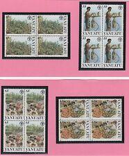 VANUATU 16 timbres neufs 1988 journée Mondiale de l'alimentation /T364