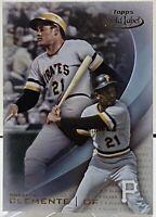 2016 Topps Gold Label Baseball Class 1 Roberto Clemente #21 Pittsburgh Pirates