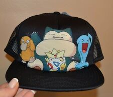 Pokemon Pikachu Character Trucker Style Hat One Size Adult Adjustable BIOWORLD