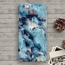 Blue Marble Cool Granite iPhone 7 6 6S plus 7 plus 5 5S 5C SE 4S 4 Slim Case