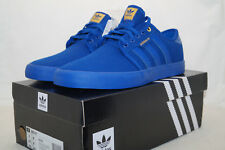 adidas originals SEELEY Skateboarding EU 42.6 UK 8.5 all blue blau B27347