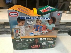 LITTLE TIKES DREAM BIG HOT HOOPS LEBRON JAMES BASKETBALL TABLETOP GAME NIB RARE