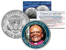 DESMOND TUTU * NOBEL PEACE PRIZE * 1984 Medal Winner JFK Half Dollar U.S. Coin