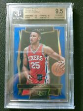 Ben Simmons 2016-17 Select Prizm Red Silver RC Rookie BGS 9.5 with 10 206/299 AS