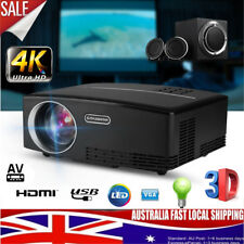 Mini HD Android WiFi Video Projector Movie LED Bluetooth Home Cinema 1080p HDMI