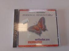 Bernina Artista 200 Personal Design Card