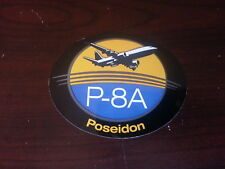 Boeing P-8A Poseidon Sticker Military Aircraft New