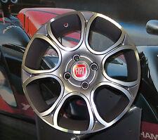 Set 4 Cerchi in lega 15 Fiat Grande punto Evo Sport Dynamic GPL Mutijet 199 Easy