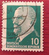Old deutsche mail stamp, German democratic republic.