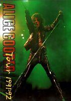 ALICE COOPER 1991 / 1992 HEY STOOPID WORLD TOUR CONCERT PROGRAM BOOK / NM 2 MINT
