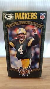 NFL Super Bowl 31 XXXI Official VHS Green Bay Packers New England Patriots
