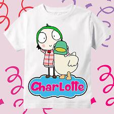 Sarah & Duck - Personalized Birthday Shirt-