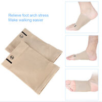 1 Pair Arch Support Gel Orthotic Insole Plantar Fasciitis Foot Sleeve Cushion ZY