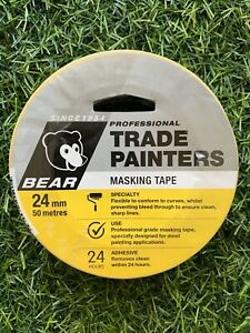 Norton Trade Painters Masking Tape - 24mm x 50m *J2