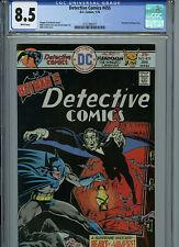 Detective Comics # 455 CGC 8.5 VF+  Batman 1976 White Pages Comic Amricons B13