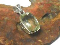 Green  AMETHYST   Sterling  Silver  925  Gemstone  PENDANT