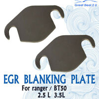 Fit Ford Ranger PK PJ For Mazda BT50 3.0 2.5 EGR Blanking Plate 07-11 Plates Kit
