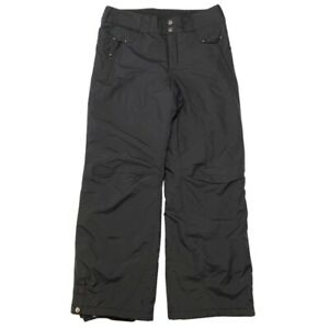 Columbia Titanium Youth Snow Pants Black Insulated Ski Snowboard Size 14 16