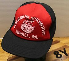 VINTAE CEDERBLOM AUTOMOTIVE EDWALL WASHINGTON HAT SNAPBACK VERY GOOD CONDITION