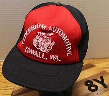 VINTAE CEDERBLOM AUTOMOTIVE EDWALL WASHINGTON HAT SNAPBACK VERY GOOD CONDITION