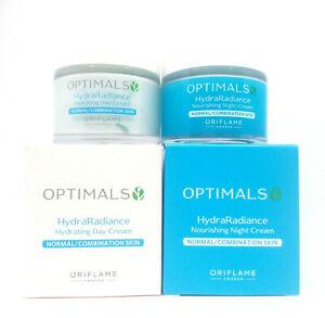 ORIFLAME Optimals Hydra Radiance Day Cream + Night Cream