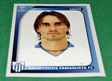 55 SAVIO FAMAGUSTA CYPRUS UEFA PANINI FOOTBALL CHAMPIONS LEAGUE 2008 2009
