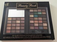 PALETTE ELF 48 OMBRETTI GLAM HOLIDAY EYESHADOW BEAUTY BOOK MAKE UP IDEA REGALO