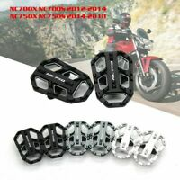Foot Pegs Footpegs Footrests For Honda NC700X NC700S 12-14 NC750X/S 2014-2018