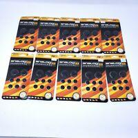 Lot of 10 Packs ~ KMD PSP 1000 2000 3000 Analog Joystick Caps 8 Pack