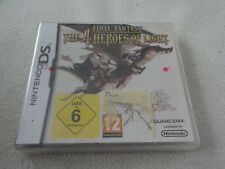 Final Fantasy The 4 Heroes of Light Nintendo DS Game NEW New Sealed