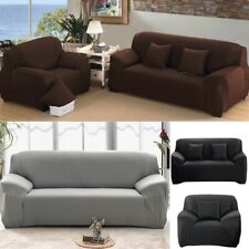 Stretch Chair Cover Couch Slipcover 1/2/3 People Sofa Loveseat Elastic Protector