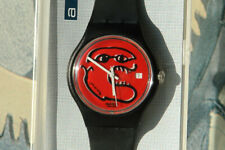 Absolute Rare !! ART SPECIAL SWATCH Fondation Maeght GZ 401 dial