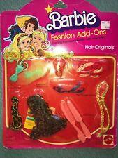 VINTAGE SUPERSTAR ERA BARBIE HAIR FASHIONS ADD- ONS NRFB