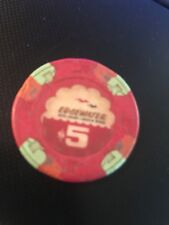 Edgewater Hotel Casino $5.00 Chip Laughlin Nevada