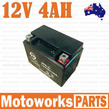 12V 4AH Battery 50cc 70cc 90cc 110cc 125CC ATV QUAD Bike Gokart Buggy Dirt Pit b