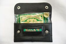 SOFT LEATHER TOBACCO POUCH WITH SLOT FOR PAPER