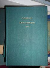 Arcangelo Corelli: 12 Concerti grossi opus 6 Edition Peters Oln. pocket score