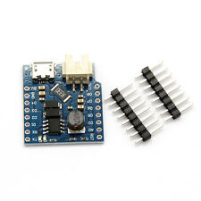 Battery Shield For WeMos D1 Mini Single Lithium Battery Charging & Boost CH