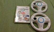 Mario Kart Wii Nintendo Wii, 2008 with 2 Steering Wheels